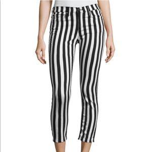 Women's striped Rag & Bone size 29 Capri